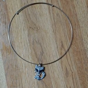 Kitty Gem Choker Necklace